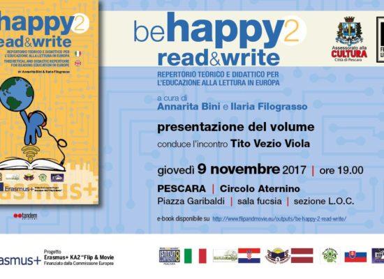 Presentazione del volume Be Happy 2 read & write